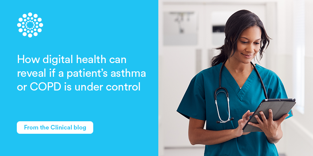 Digital health asthma COPD control